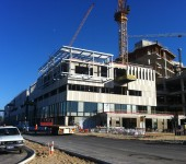 Fiona Stanley Hospital - Precast Panel Erection and structural steel light box
